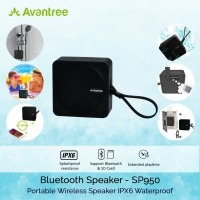 Avantree Bluetooth Speaker Waterproof IPX6 Support SD Card - SP950