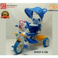 Sepeda Anak WIMCYCLE Roda 3 Tricycle SHEEP