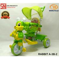 Sepeda Anak WIMCYCLE Roda 3 Tricycle RABBIT