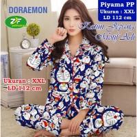 Piyama PP XXL - Katun Jepang / Baju Tidur Murah - Karakter Doraemon 03