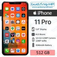iPhone 11 Pro 512 GB Garansi Resmi