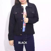Jaket Denim Wanita Blueantdenim Non Stretch 6 pilihan warna. Popular
