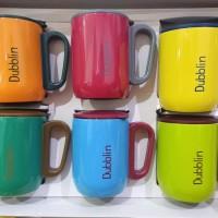 Gelas Polo 6Pcs / Mug Set 6 Pcs 220 ml / Gelas Stainless Dubblin