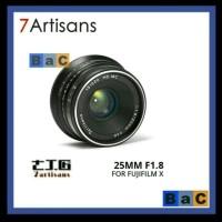 Lensa 7artisans 25mm f1.8 for fuji xa1 xa2 xa3 xa5 xa10 xt1 xt10 xt20