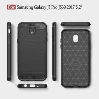 Samsung Galaxy J5 Pro 2017 Carbon Fiber Slim Fit Soft Case