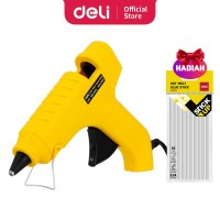 Deli Gun Lem Tembak warna kuning daya listrik 60 watt EA50161