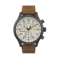 Jam Tangan Timex Expedition Gunmetal Cream Chrono TW2T73100