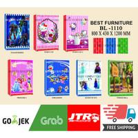 Best BL-1110 Baby Locker Karakter Lemari Pakaian Anak uk 80x120cm