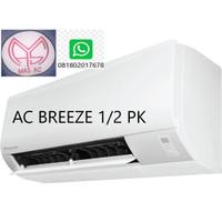 AC DAIKIN BREEZE 1/2PK + Pasang+Pipa+Kabel+Braket