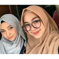 Frame kacamata wanita hijab free lensa anti radiasi