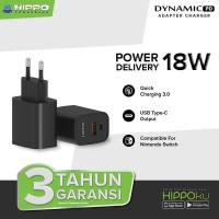 Hippo Dynamic PD Adaptor Quick Fast Charging PD 18W