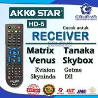 Remot Akko Star HD 5 Mirip Master HD Universal Multi Receiver HD Mpeg4