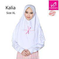 Kerudung Sekolah Anak Kalia XL Rabbani Bergo Kaos Jilbab Sekolah