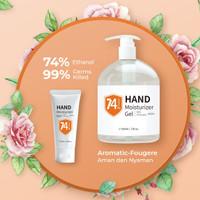 PAKET Hand sanitizer 60 ml+500 ml Aseptic Gel 60ml+500ml Alkohol BPOM