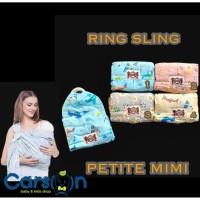 Petite Mimi Gendongan Cukin Ring/Gendongan Bayi Petite Mimi Ring Sling