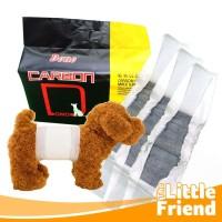 Belly Belt Popok Pamper Diapers Karbon Anti Marking Anjing Jantan