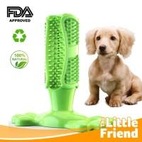 Mainan Gigitan Anjing Stick Silikon Pembersih Karang Gigi/Dog Silicone