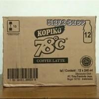 Kopiko 78° C Coffe Latte Botol Pet - 240 ml
