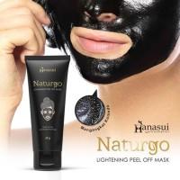 Masker Naturgo Hanasui Tube Masker Wajah BPOM Masker Hanasui Original