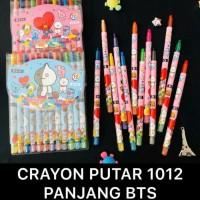 Crayon putar BTS 12 warna panjang
