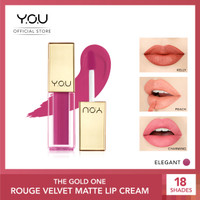 YOU The Gold One Rouge velvet Matte Lipcream[Quick Dry & Non-transfer]
