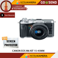 Canon Eos M6 Kit 15-45mm Is Stm Paket - Standar