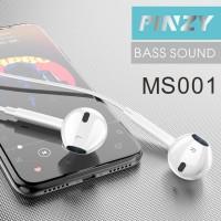 Headset - Earphone - Handsfree PINZY MS001 Bass Sound
