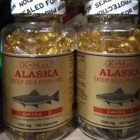 K-MAX alaska deep sea fish oil minyak ikan omega 3 6 9