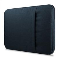 Tas Laptop / Softcase Nylon Sleeve Case 11 12 13 14 15 15.6 inch - Hitam, 11 - 12.5 inch