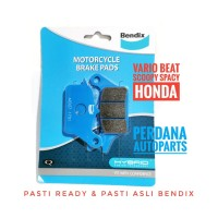 Kampas Rem BENDIX MD27 - Honda Vario 110/Vario 125/Beat/Scoopy/Spacy