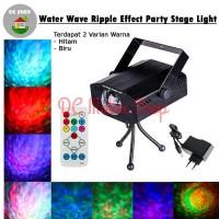 Water Ripple Laser Stage Lighting Sensor Musik Lampu Disco / Panggung