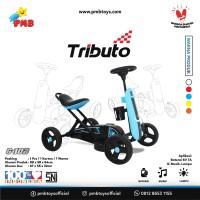 GOKART TRIBUTO TYPE G-102 BIRU (DENGAN AKI)