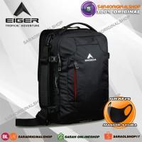 Eiger Laptop Navigator Thick Tas Ransel Pria - Hitam - Original