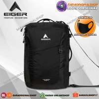 Eiger Navigator Giga X - Tas Ransel Laptop Selempang Pria - Original