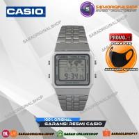 Casio A-500W-1 Jam Tangan Wanita Digital - Original