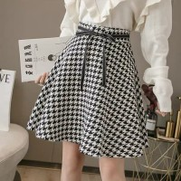 (#9816)Miss A Skirt/Rok Midi/Rok Flare/Rok Autumn