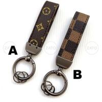 High Quality Keychain Gantungan Kunci mobil motor leather