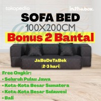 Sofabed Sofa Bed Inthebox In The Box ukuran 100x200x25 cm