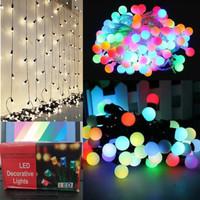 Lampu Hias Bulat Warna Warni Model Anggur Lampu Tumblr