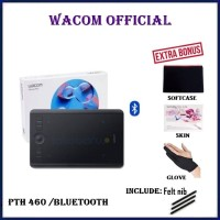 WACOM Intuos Pro Small PTH-460/K0-CX PTH460 PTH 460 K0 C 8192 Pressure - Hitam