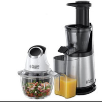 russell hobbs slow juicer & mini chopper