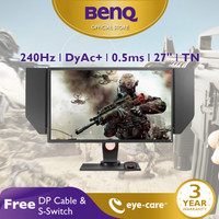 Monitor Gaming BenQ ZOWIE XL2746S 27 inch 240Hz 0.5ms Dynamic Accuracy
