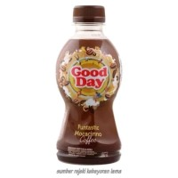 Kopi Good Day Drink Funtasic Mocacinno Kemasan Botol / 1 Lusin / 240ml