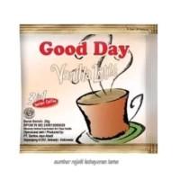 Kopi Good Day Drink Bubuk Rasa Vanilla Latte / 1 Pak (5 Renceng) /20gr