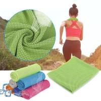 Handuk Microfiber Dingin Olahraga lari Cooling Towel Gym Running Sport