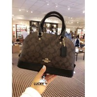 Coach Signature Mini Sierra Mahogany - Original 100%