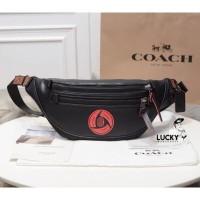 Coach x Michael B. Jordan Belt Bag Black Copper/Black - Original 100%
