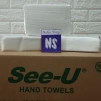 Termurah Tissue See U Hand towel / Tissue Dapur / Tisu Dapur 1 Ply - Dus Hijau