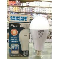 lampu bohlam emergency sunsafe ajaib double baterai 18 watt
