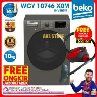 Beko Mesin Cuci Front Loading 10 Kg WCV 10746 X0M Inverter FREE ONGKIR
